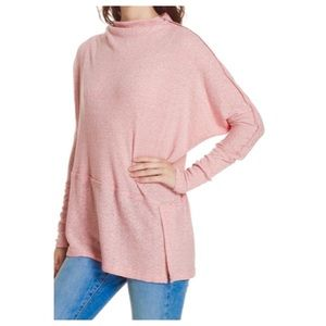 Free People We The Free Londontown Pink Tunic Top